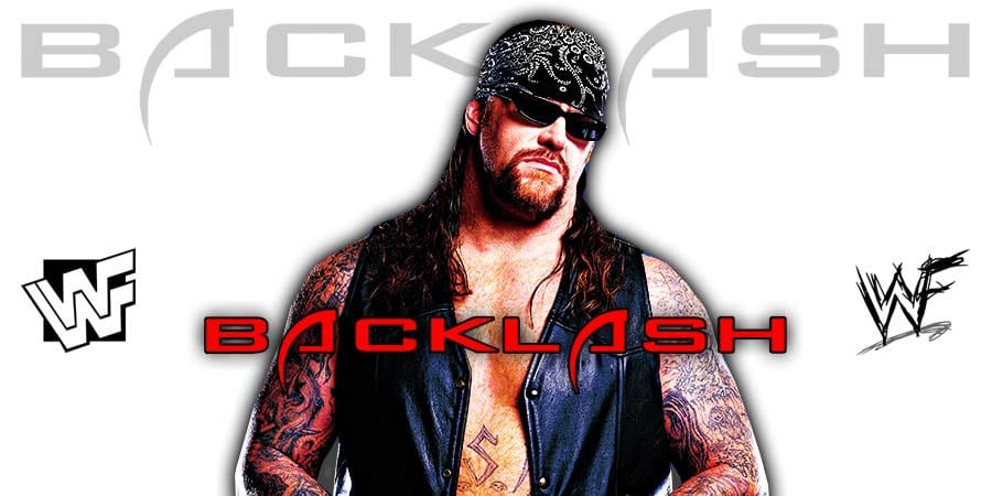 The Undertaker WWE Backlash 2020