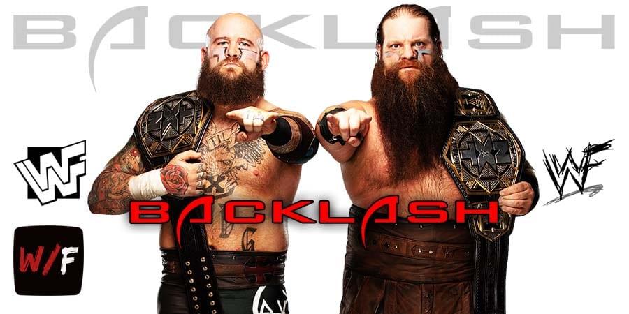 The Viking Raiders WWE Backlash 2020