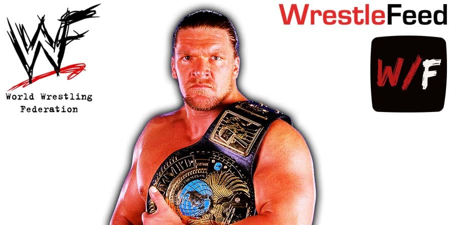 Triple H WWF Champion Article Pic WrestleFeed App