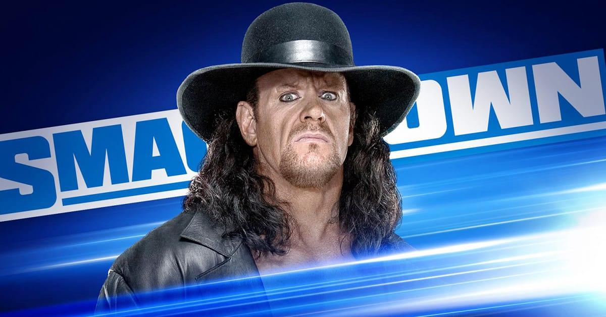 Undertaker WWE SmackDown Graphic June 2020