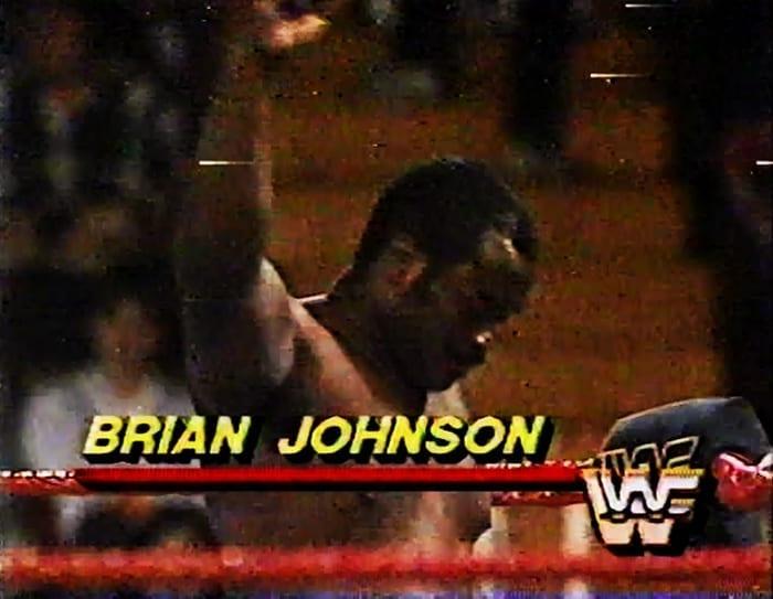 WWF Jobber Brian Johnson