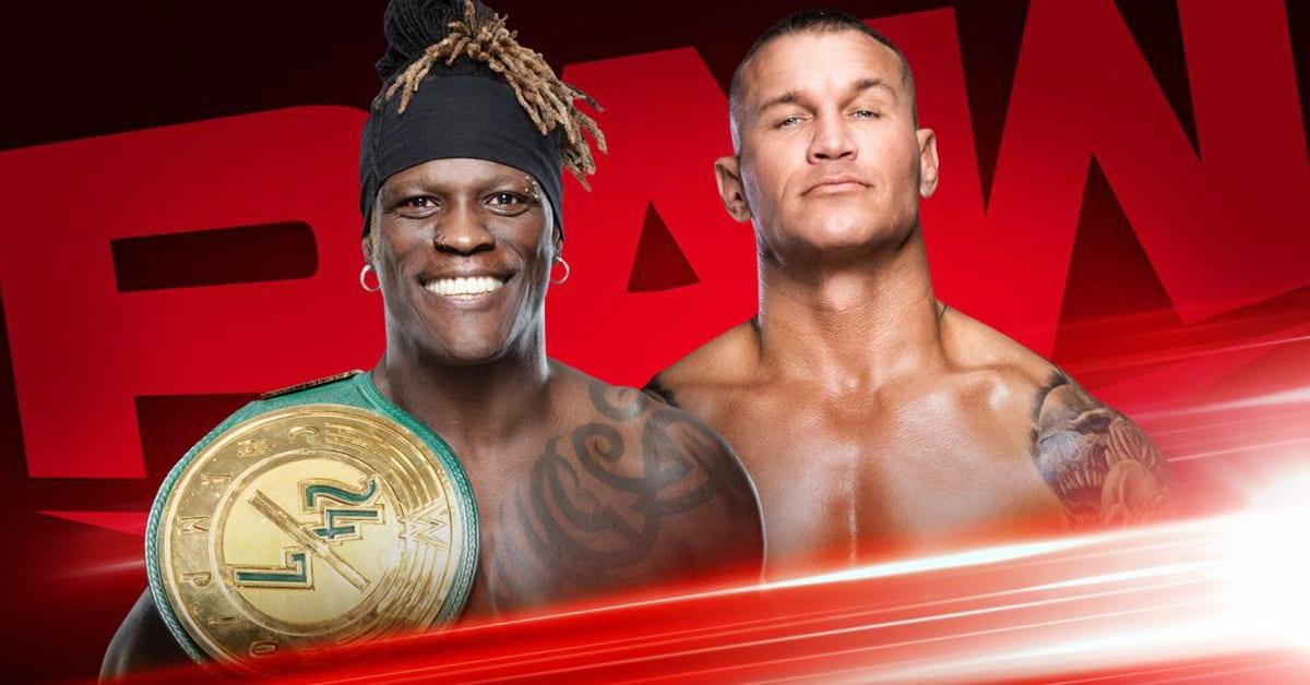 24 7 Champion R-Truth vs Randy Orton - WWE RAW