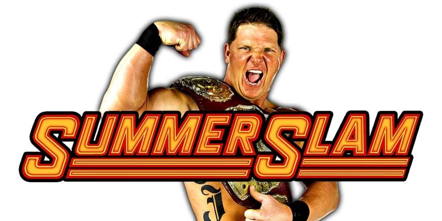 AJ Styles SummerSlam 2020