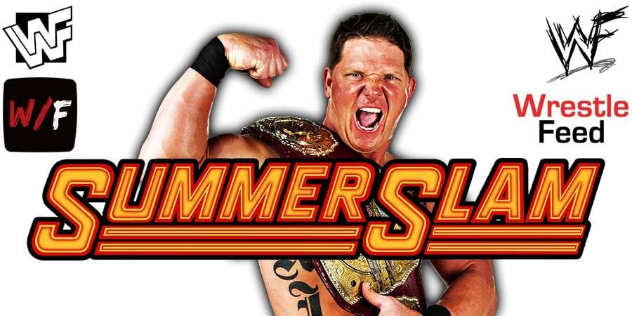 AJ Styles WWE SummerSlam 2020 WrestleFeed App
