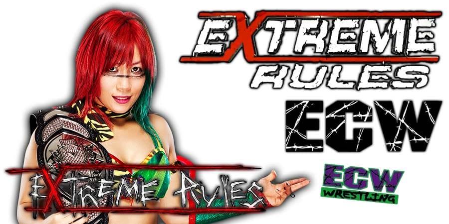 Asuka WWE Extreme Rules 2020