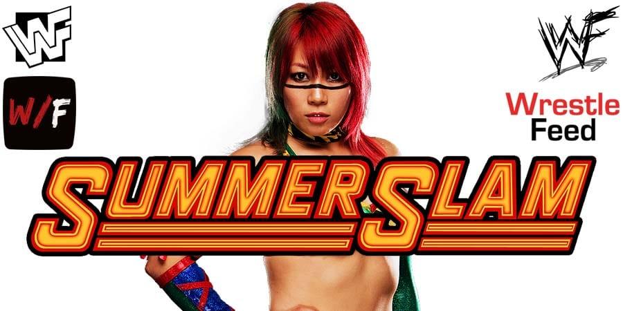 Asuka WWE SummerSlam 2020
