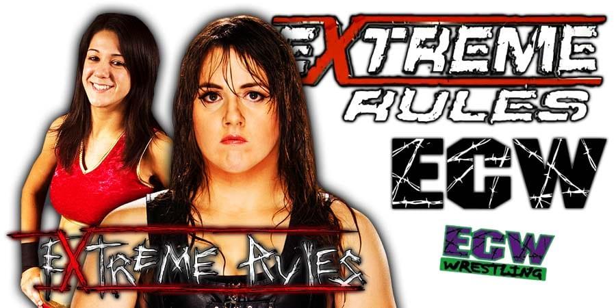 Bayley vs Nikki. Cross - WWE Extreme Rules 2020
