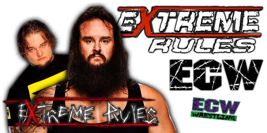 Bray Wyatt Braun Strowman Wyatt Swamp Fight Extreme Rules 2020