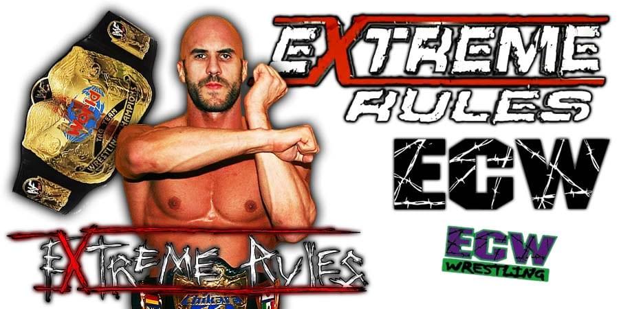 Cesaro WWE Extreme Rules 2020