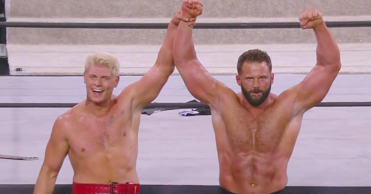 Cody Rhodes Matt Cardona Zack Ryder AEW Dynamite Debut July 2020