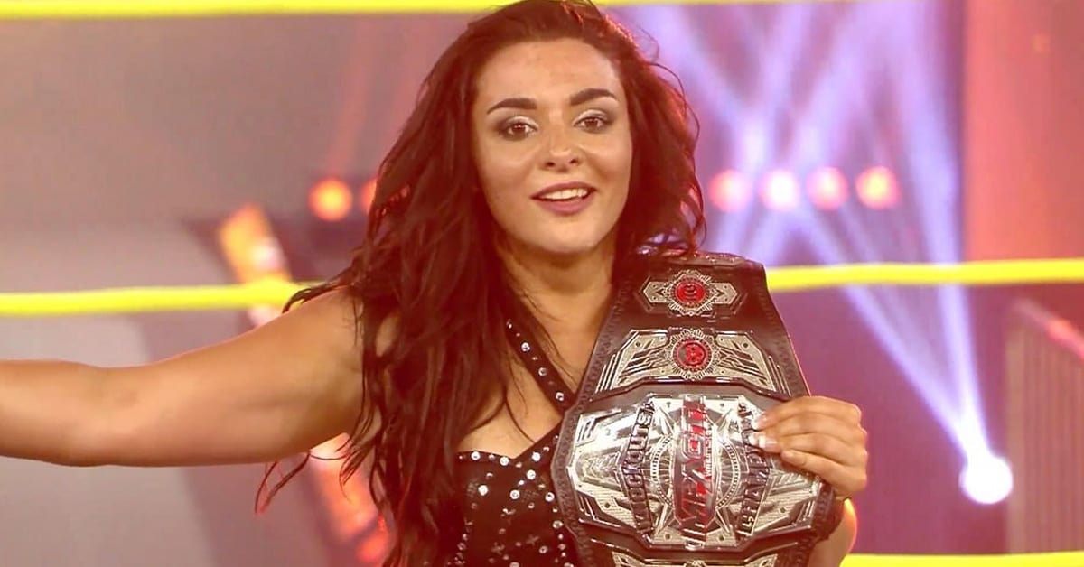 Deonna Purrazzo defeats Jordynne Grace to win the Impact Knockouts Championship At Slammiversary 2020