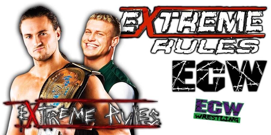 Drew McIntyre vs Dolph Ziggler - WWE Extreme Rules 2020