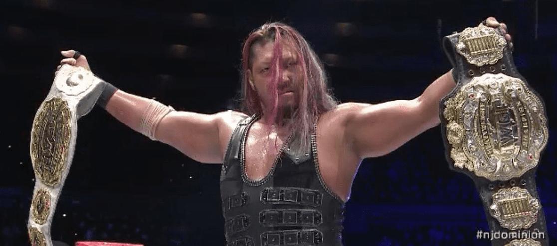 EVIL Wins IWGP Heavyweight Championship & IWGP Intercontinental Championship At NJPW Dominion 2020