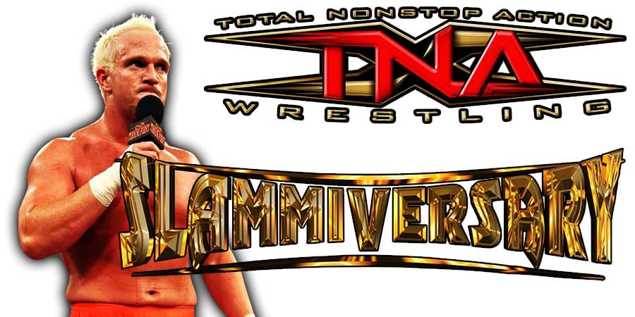 Eric Young Impact Wrestling Slammiversary 2020
