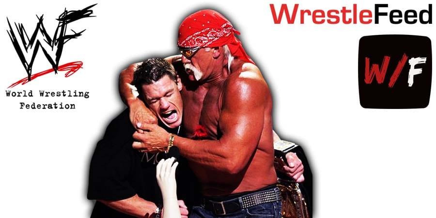 John Cena vs Hulk Hogan WrestleFeed App