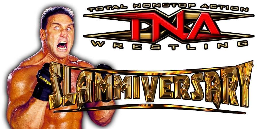 Ken Shamrock Impact Wrestling Slammiversary 2020