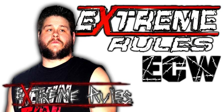Kevin Owens Extreme Rules 2020