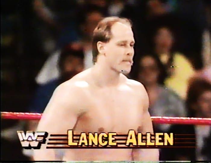 Lance Allen WWF Jobber