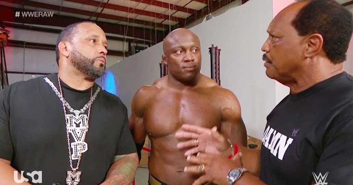 MVP Bobby Lashley Ron Simmons Faarooq WWE RAW July 2020