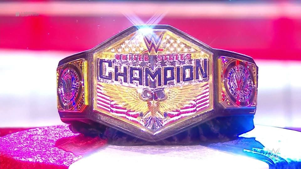New WWE United States Championship Title Belt July 2020