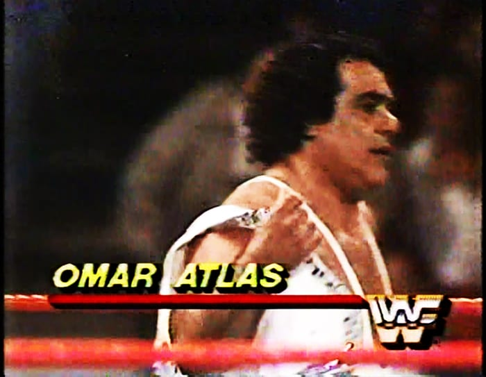 Omar Atlas WWF Jobber