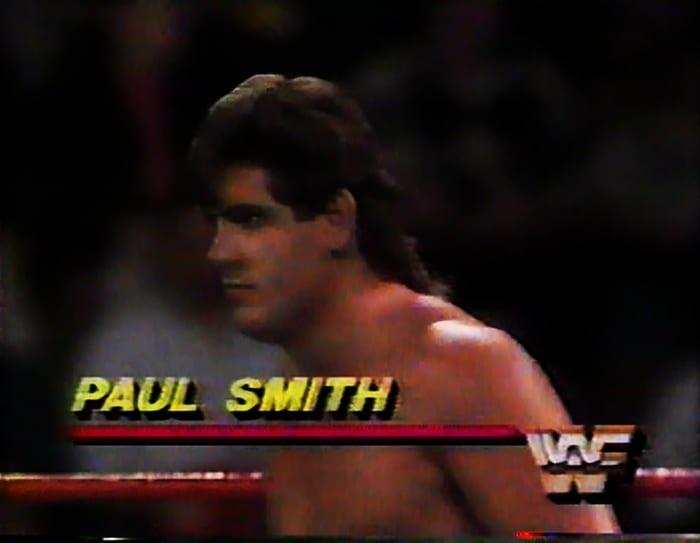 Paul Smith WWF Jobber