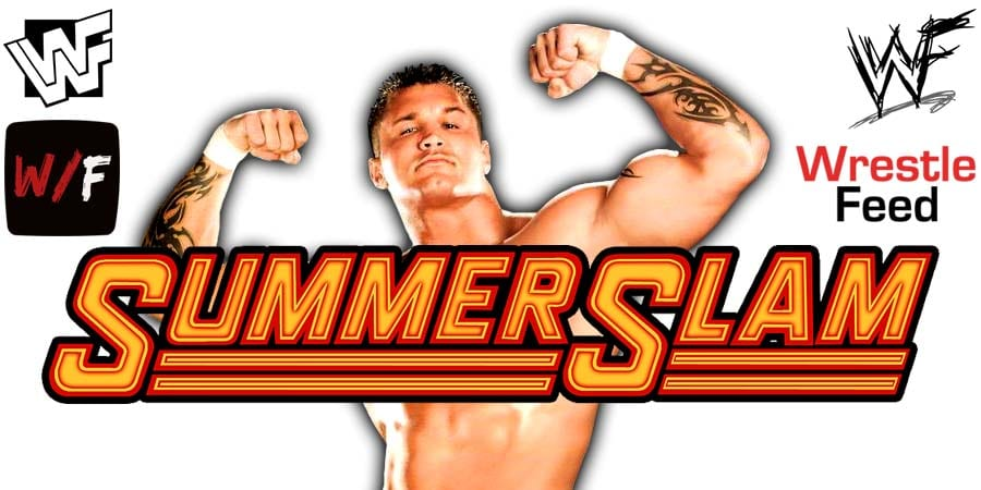 Randy Orton SummerSlam 2020 WrestleFeed App