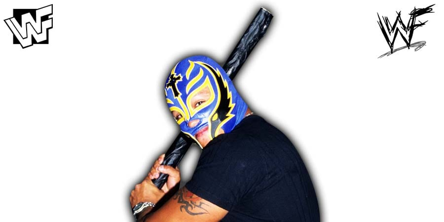 Rey Mysterio Baseball Bat Article Pic