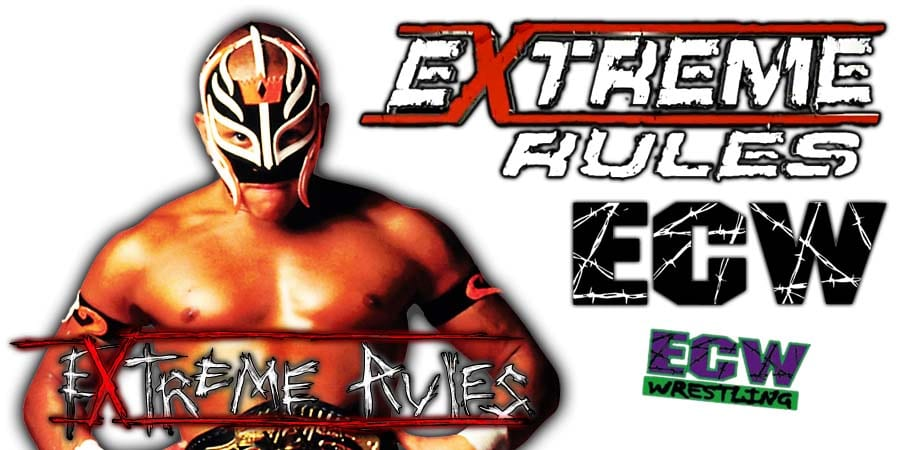 Rey Mysterio Extreme Rules 2020