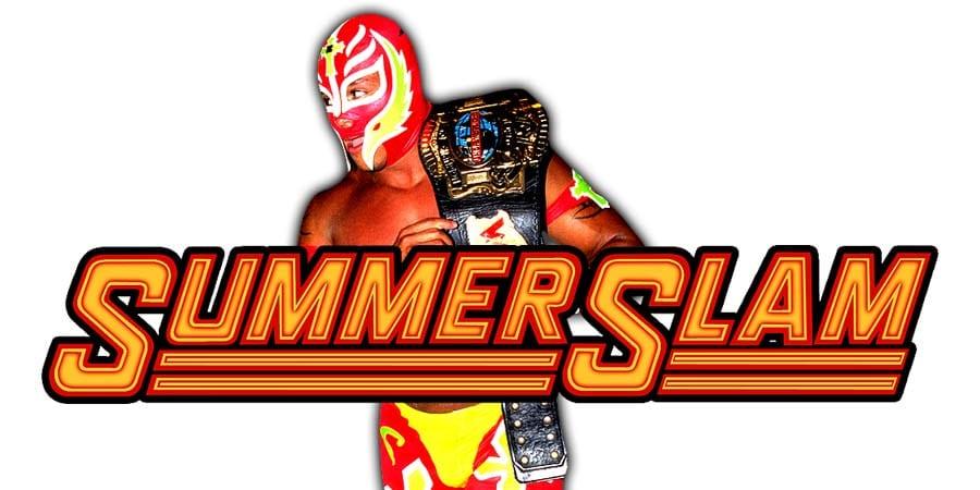 Rey Mysterio SummerSlam 2020