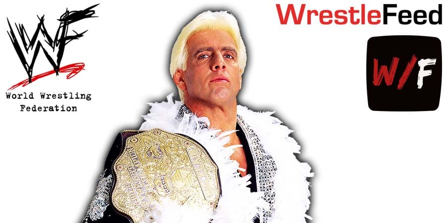 Ric Flair WrestleFeed App Article Pic 1