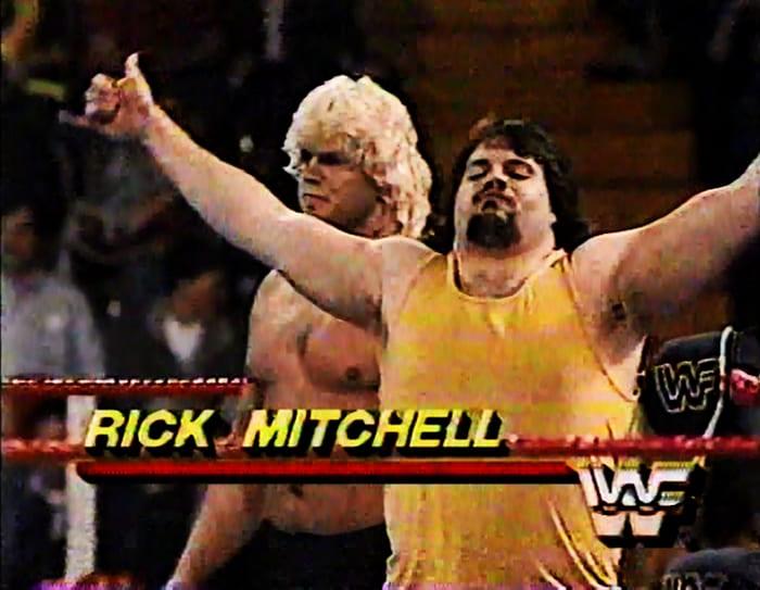 Rick Mitchell WWF Jobber