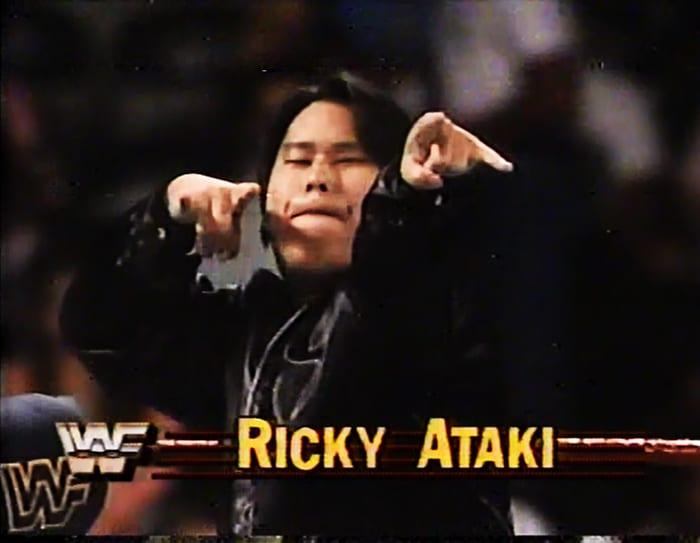 Ricky Ataki WWF Jobber