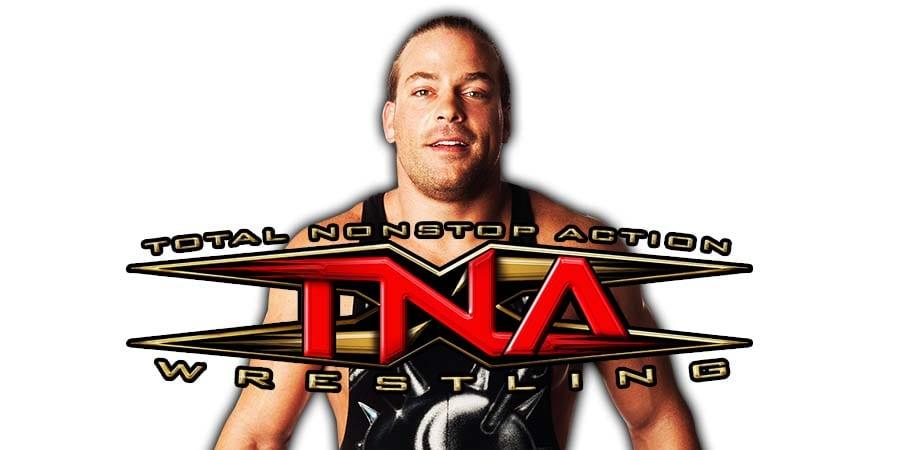Rob Van Dam RVD TNA Impact Wrestling