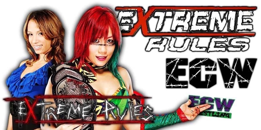 Sasha Banks Pins Asuka At WWE Extreme Rules 2020