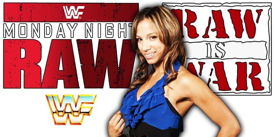 Sasha Banks RAW Article Pic