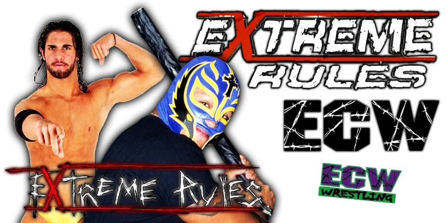 Seth Rollins Defeats Rey Mysterio At WWE Extreme Rules 2020