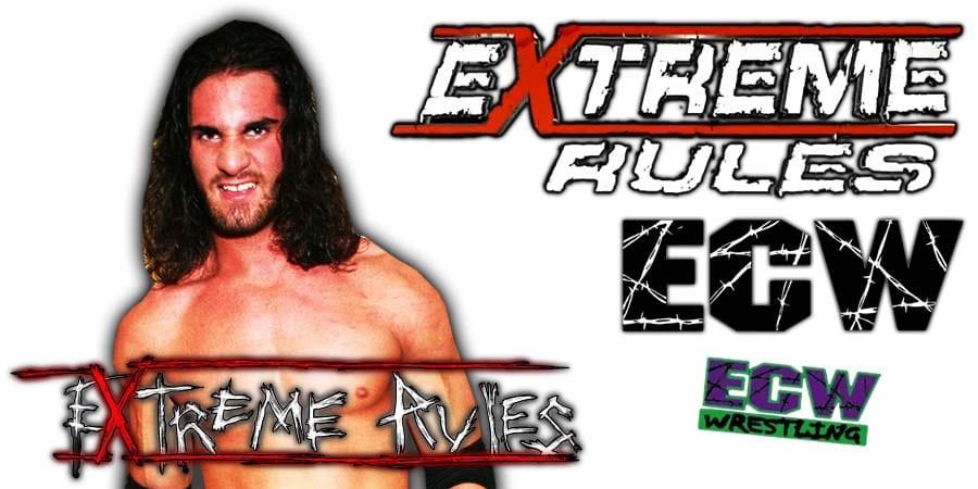 Seth Rollins WWE Extreme Rules 2020