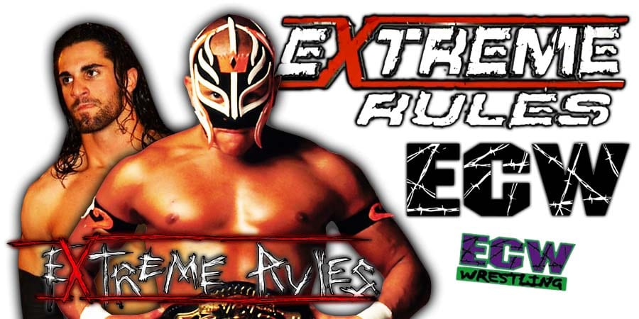 Seth Rollins vs Rey Mysterio - Extreme Rules 2020