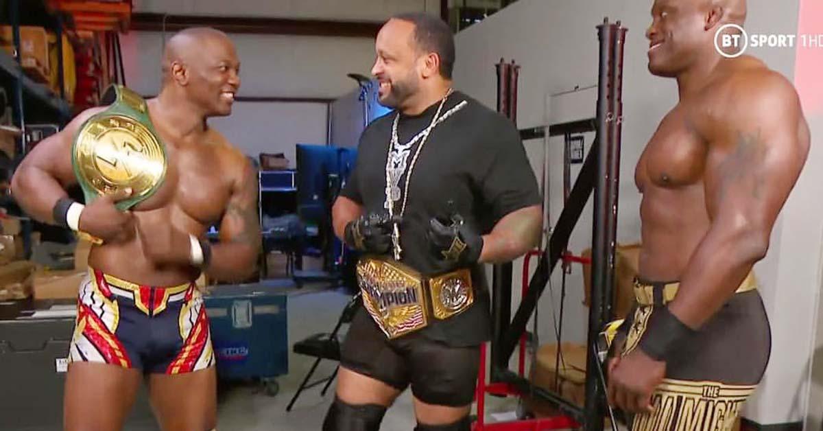 Shelton Benjamin Wins WWE 24 7 Championship On RAW MVP Bobby Lashley Hurt Business