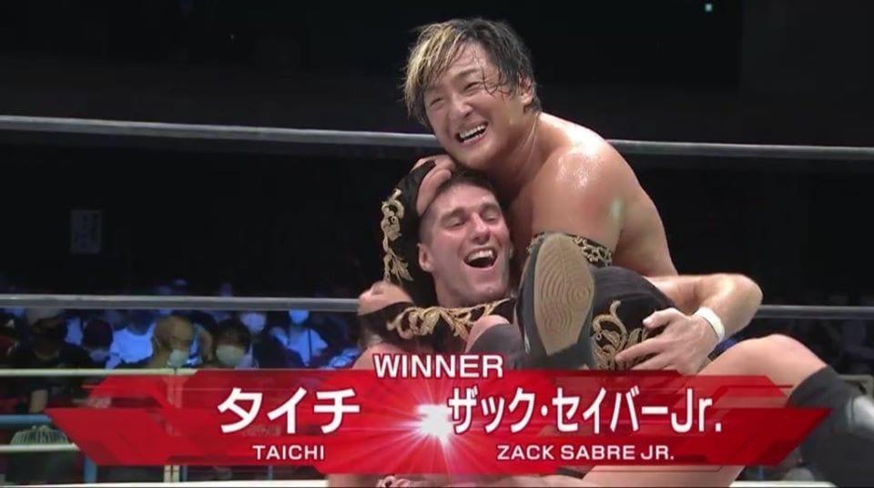 Taichi and Zack Sabre Jr Win IWGP Tag Team Championship At NJPW Dominion 2020
