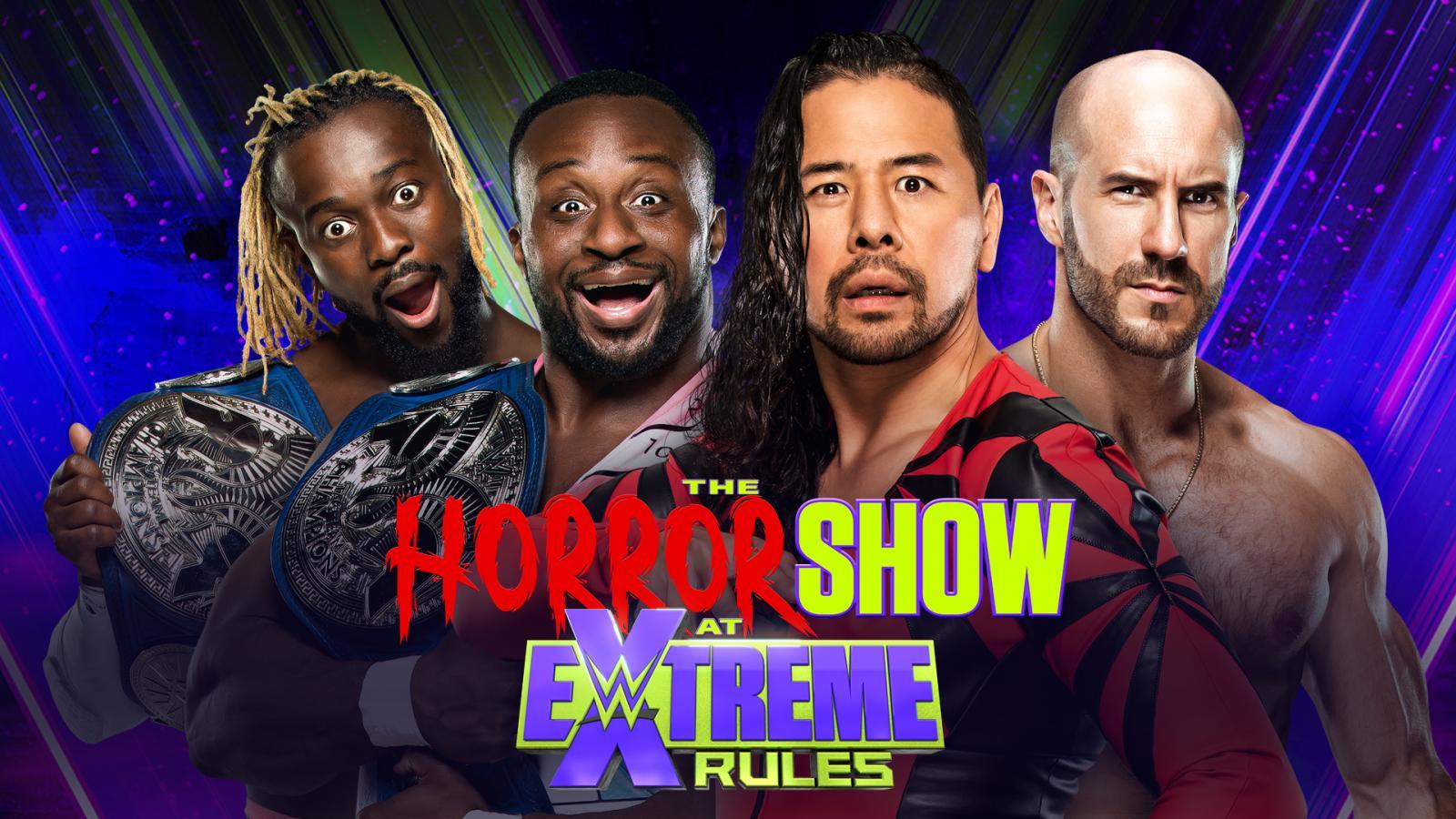 The New Day vs Shinsuke Nakamura Cesaro - WWE Extreme Rules 2020 (SmackDown Tag Team Championship Match)