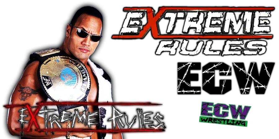 The Rock Extreme Rules 2020