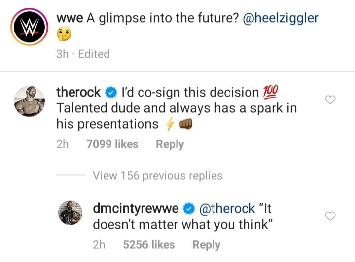 The Rock Wants Dolph Ziggler To Become WWE Champion, Drew McIntyre Responds