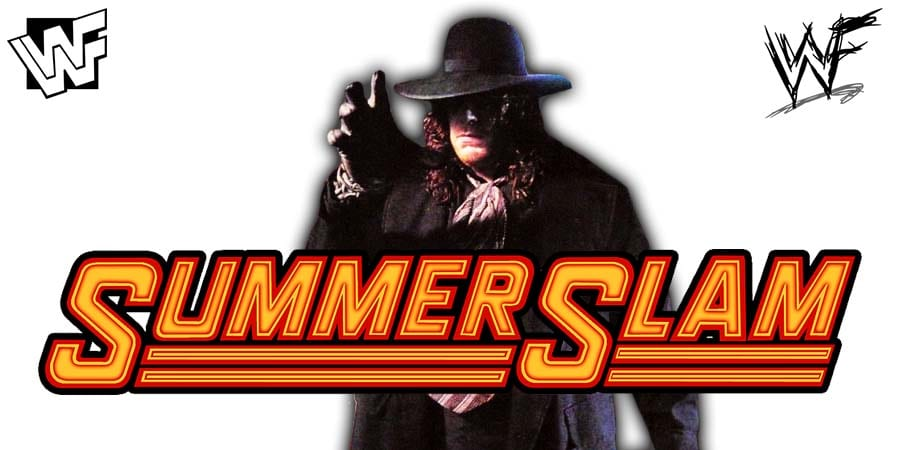 The Undertaker WWE SummerSlam 2020
