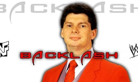 Vince McMahon WWE Backlash 2020