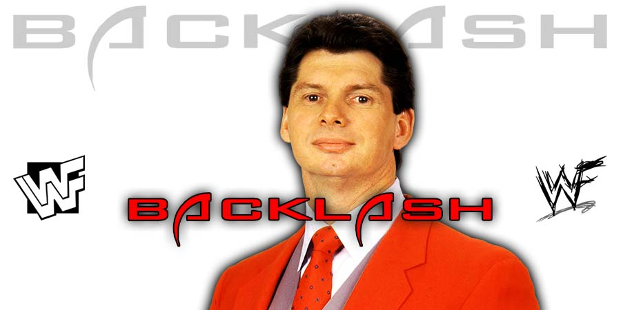 Vince McMahon WWE Backlash 2020