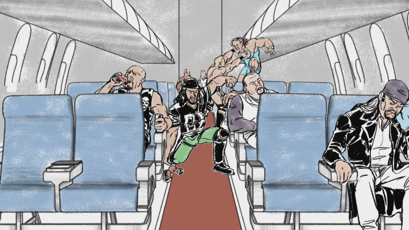 WWE Makes Plane Ride From Hell Error On The Bonus Episode Of Undertaker The Last Ride