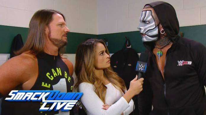 AJ Styles Kayla Braxton Jeff Hardy