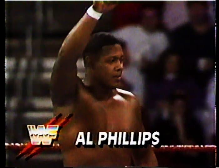 Al Phillips WWF Jobber